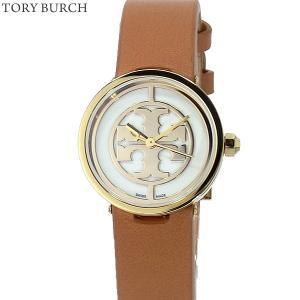 トリーバーチ 腕時計 レディース TRB4004  REVA 28mm ゴールド/ブラウンレザー 【展示用アウトレット】|pre-ma