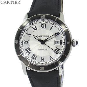 カルティエ CARTIER メンズ 腕時計 ロンド クロワジ...