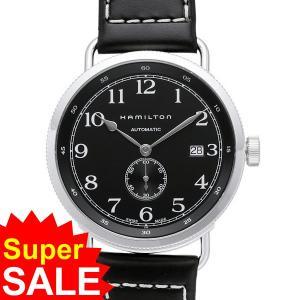 ハミルトン HAMILTON カーキ Navy パイオニア 腕時計 H78415733 自動巻 ブラック 決算セール