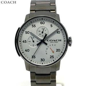 コーチ COACH  メンズ 腕時計 ブリーカー 14602360 ガンメタリック 42mm デイデイト|pre-ma