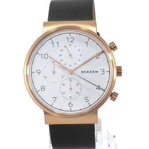 SKAGEN スカーゲン 腕時計 メンズ SKW6371 40mm  ANCHER アンカー クロノグラフ 決算SSP|pre-ma