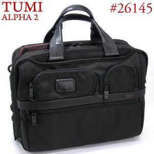 TUMI トゥミ  ビジネスバッグ/ブリーフケース ALPHA2 26145 D2 ブラック A4サイズ T-PASS エクスパンダブル|pre-ma