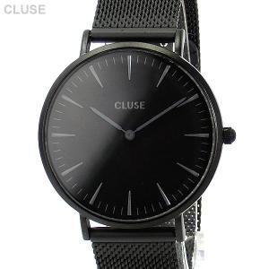 CLUSE クルース 腕時計 レディース ラ・ボエーム 38mm メッシュ フルブラック CL18111【アウトレット】|pre-ma