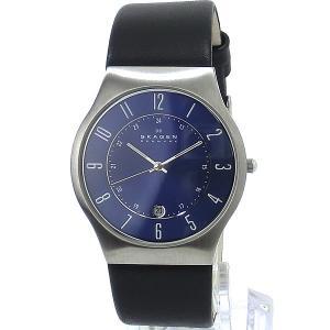 SKAGEN スカーゲン 腕時計 メンズ 233XXLSLN ウルトラスリム ネイビー【アウトレット展示品】|pre-ma