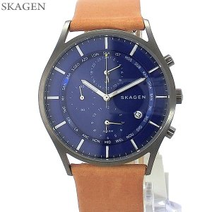 SKAGEN スカーゲン 腕時計 メンズ SKW6299 ハーゲン ワールドタイム HOLST 40mm 【アウトレット】|pre-ma