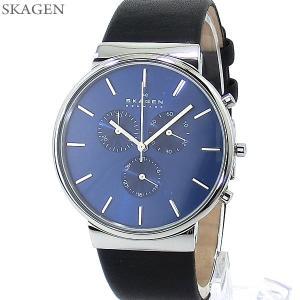 SKAGEN スカーゲン 腕時計 メンズ SKW6105 アンカー クロノグラフ ANCHER 40mm 【アウトレット訳あり】|pre-ma