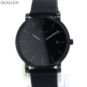 SKAGEN スカーゲン 腕時計 メンズ SKW6346 HAGEN ハーゲン 40mm ブラック ラバー【アウトレット】|pre-ma