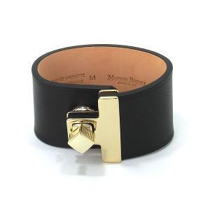 メゾンボワネ MAISON BOINET レディース ブレスレット バングル 95027G 40GDM 04 ブラック 展示品セール|pre-ma