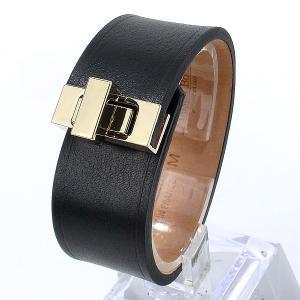 メゾンボワネ MAISON BOINET レディース ブレスレット バングル 95093G 25GD(M) ブラック 新品アウトレット|pre-ma