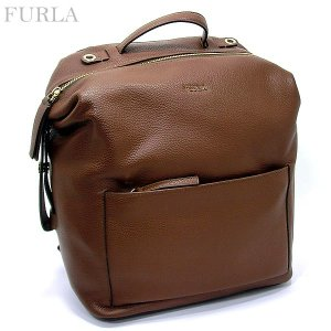 FURLA フルラ リュックサック/バックパック DAFNE M BACKPACK / BJT4 VTO MNK GLACE/ダークブラウン 869523|pre-ma