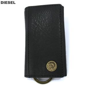 ディーゼル DIESEL キーケース 6連 / キーリング X04377 PR013 T8013  ブラック メンズ KEYCASE O pre-ma