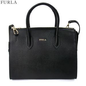 FURLA フルラ ハンドバッグ/ショルダー 2WAY PIN S SATCHEL / 942261 BMN1 B30 O60 ONYX ブラック|pre-ma