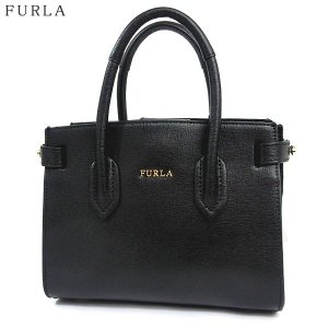 【アウトレット付属品不良-K10】FURLA フルラ ハンドバッグ PIN MINI TOTE / 978752 BQM3 B30 O60 ブラック|pre-ma