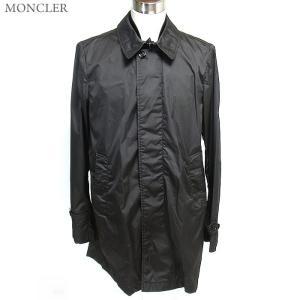 【アウトレット 訳あり特価】MONCLER モンクレール LIONEL ステンカラー スプリングコート 999/ブラック系|pre-ma