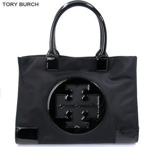 トリーバーチ TORY BURCH トートバッグ 50009811 ラージ ELLA ブラック/ベージュ アウトレット特価|pre-ma