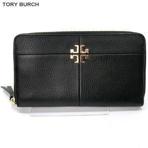 トリーバーチ TORY BURCH 長財布 ラウンドジップ  31150 001/ブラック レザー 【アウトレット特価】|pre-ma