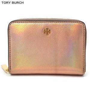トリーバーチ TORY BURCH コインケース/小銭入れ/小物入れ  40097 694 メタリック【新品アウトレット】|pre-ma