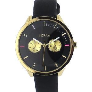 フルラ 腕時計 レディース 4251102501  FURLA METROPOLIS 38mm ブラック レザー 【アウトレット訳あり】 pre-ma