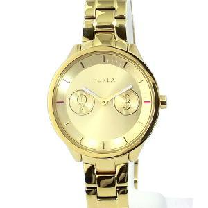 フルラ 腕時計 レディース 4253102508  FURLA METROPOLIS 31mm ゴールド ステンレス アウトレット特価|pre-ma