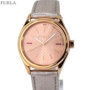 フルラ 腕時計 レディース 4251101502  FURLA EVA 35mm RG/メタリックローズレザー 【アウトレット訳あり】|pre-ma