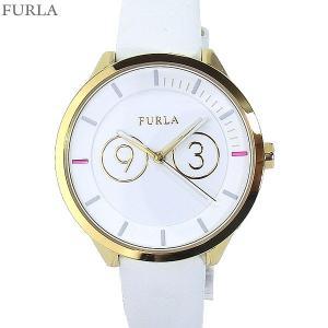 フルラ 腕時計 レディース 4251102503 38mm  FURLA METROPOLIS ホワイトレザー アウトレット|pre-ma