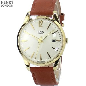 ヘンリーロンドン 腕時計 HL39-S-0012 HENRY LONDON WESTMINSTER 39mm レザー|pre-ma
