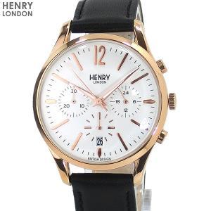 ヘンリーロンドン 腕時計 HL39-CS-0036  HENRY LONDON RICHMOND 39mm クロノグラフ レザー|pre-ma