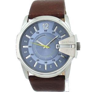 ディーゼル DIESEL 腕時計 メンズ DZ1399 メガチーフ ブラウンレザー【アウトレット展示品】|pre-ma
