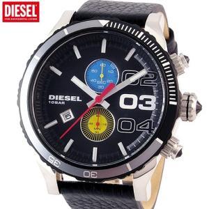 【アウトレット訳あり-B06】ディーゼル DIESEL 腕時計 メンズ DZ4331 クロノグラフ ブラックレザー|pre-ma