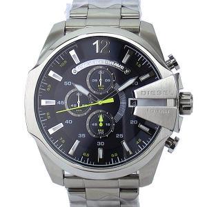 ディーゼル DIESEL メガチーフ DZ4465 メンズ腕時計 クロノグラフ ネイビー/シルバー  新品アウトレット|pre-ma