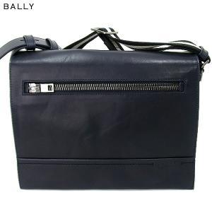 BALLY バリー ショルダーバッグ TAMRAC MEDIUM 387/NEW BLUEブルー 2017SS|pre-ma