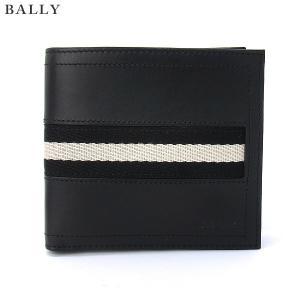 BALLY バリー 二つ折り財布 TYE メンズ 290 ブラック 2017SS|pre-ma