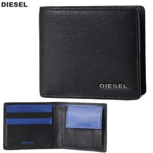 ディーゼル DIESEL 財布 二つ折り X04459 PR013 H6251 ブラック メンズ HIRESH S  2017SS新作|pre-ma
