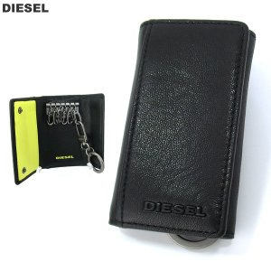 ディーゼル キーケース 6連  DIESEL X04462 PR227 H3350 ブラック/イエロー メンズ KEYCASE 0|pre-ma