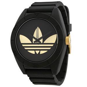 ADIDASアディダス 腕時計  ADH2912 サンティアゴ ゴールド/ブラック ラバー  メンズ 決算セール|pre-ma