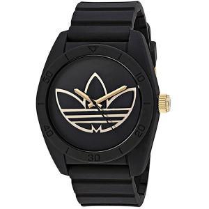 ADIDASアディダス 腕時計  ADH3197 サンティアゴ ゴールド/ブラック ラバー  メンズ|pre-ma