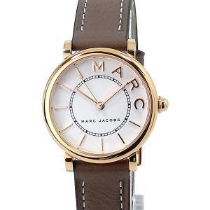 マークジェイコブス 腕時計 28mm レディース MJ1538 ROXY ロキシー ホワイト/グレイッシュベージュ|pre-ma