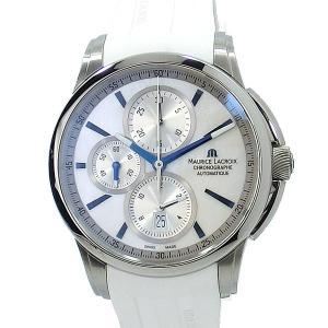 モーリス ラクロア 腕時計 MAURICE LACROIX ポントス PT6188-SS001-132 43mm 自動巻 クロノグラフ|pre-ma