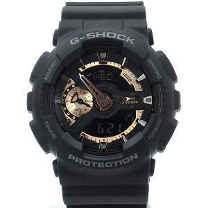 CASIO カシオ G-SHOCK 腕時計 GA-110RG-1ADR アナデジ ブラック メンズ  アウトレット箱不良|pre-ma
