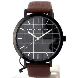 クリスチャンポール 腕時計 GR-02  CHRISTIAN PAUL 43mm グリッドコレクション 【アウトレット決算SSP】|pre-ma