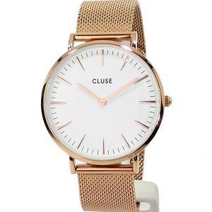CLUSE クルース レディース 腕時計 CL18112 ラ・ボエーム 38mm メッシュ ローズゴールド【アウトレット】|pre-ma