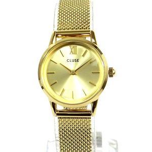 CLUSE クルース レディース 腕時計 CL50003 ラ・ヴェデットLa Vedette 24mm メッシュ イエローゴールド 新品特価|pre-ma