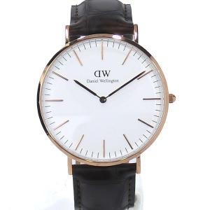 ダニエルウェリントン 腕時計 40mm Classic York 0111DW ローズゴールド  メンズ アウトレット特価|pre-ma