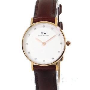 ダニエルウェリントン レディース 腕時計 26mm Classy St.Mawes 0900DW レザー RG Daniel Wellington【アウトレット-06】|pre-ma
