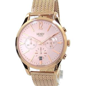 【アウトレット】ヘンリーロンドン 腕時計 HL39-CM-0168  HENRY LONDON SHOREDITCH 39mm メッシュ|pre-ma