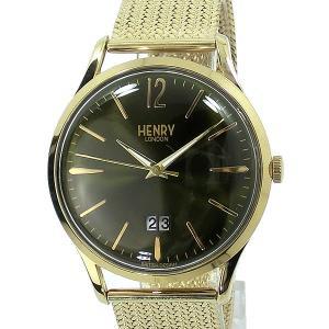 【アウトレット展示品】ヘンリーロンドン 腕時計 HL41-JM-0146  HENRY LONDON CHISWICK 41mm メッシュ|pre-ma