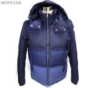 モンクレール ダウンジャケット メンズ ROUVE 740/ネイビー・ブルー サイズ(3/L)  MONCLER 決算セール|pre-ma