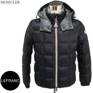 モンクレール ダウンジャケット 軽量 メンズ LEFRANC  999/ブラック  MONCLER|pre-ma
