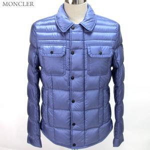 モンクレール ダウンジャケット ハーフジャケット ROLLAND 745/ライトブルー ライトウエイト メンズ MONCLER|pre-ma