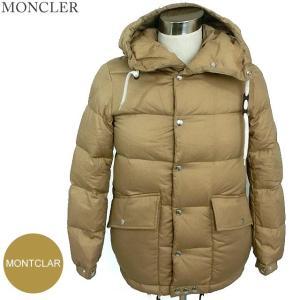 モンクレール MONTCLAR ダウン ジャケット メンズ  サイズ(0) 235/ベージュカーキ系 MONCLER|pre-ma